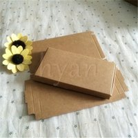 Wholesale Blank Brown Socks Necktie Gift Packing Boxes handmade Storage Box Mobile phone shell Packing boxes