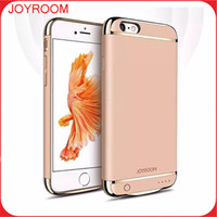 battery backups phone covers - JOYROOM Power Case External Backup Battery Charger Case Cover Phone Accessories For iphone S plus S plus