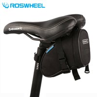 Wholesale Roswheel Outdoor Cycling Mountain Bike Bicycle Saddle Bag Back Seat Tail Pouch Package DHL