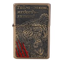ancient souvenirs - High quality fashion metal lighters Electronic Cigarette Lighter Gadgets Cigar smoking Refillable lighters Ancient Souvenirs