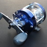 Wholesale Carpfishing Blue Drum Saltwater Reel Right Left Hand Molinete Fishing Baitcasting Reel BB Spool Peche China Online Store