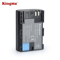 7d battery grip - KingMa LP E6 LP E6 LPE6 Rechargeable Camera Battery Pack For Canon D2 D3 D D D D D Mark II III batteries