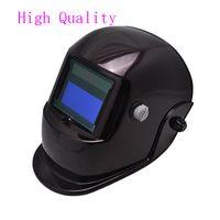 Wholesale Pro Solar High Quality Auto Claret Welding Helmet Arc Tig Mig Mask Grinding Welder Mask