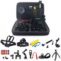 Wholesale 26 in Head Chest Mount Floating Monopod Accessories Kit For GoPro Camera Action Cam Accessories set
