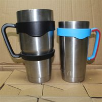 Wholesale Best Yeti cups handlers oz oz colorful beer cup handler vehicle beer mug handler beer cup free shippoing