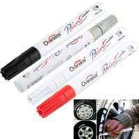 Wholesale White Waterproof Rubber Permanent Paint Marker Pen Car Tyre Tread Environmental Tire Painting