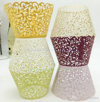 Wholesale Filigree Vine Cupcake Wrappers Wraps Cases Wedding Birthday cupcake cases Brand New Good Quality