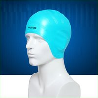Wholesale Unisex Elastic Swimming Cap Silicone Waterproof Surf Hat for Adult Protecting Ear and Long Hair
