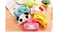 Wholesale Candy Colors Water Coral Towel Cartoon Kitchen Creative Be Hanging Washcloth Panda Hello Kit Lovely Hand Towel Sector For All People