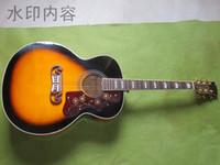 Wholesale New Custom Giutars Sunburst Acoustic Guitar
