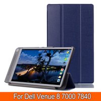 Wholesale For Dell Venue Stand flip Custer PU leather Case Cover capa para For Dell Venue quot Tablets case