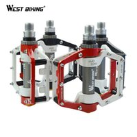 Wholesale Bicycle Pedals To Bike Bearing Pedal MTB Ultralight Aluminum Mountain Road BIke Bicicleta Accessories Ciclismo Cycling pedals