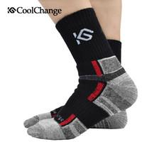 Wholesale 2016 Coolchange Autumn and Winter Outdoor Sports Socks Mens Coolmax Cycling Socks Men s Socks