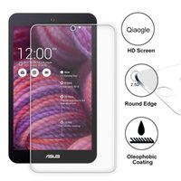 Wholesale Qiaogle Anti explosion Tempered Glass Screen Protector Ultra Hard For ASUS MeMO Pad ME181 CX ProSieb Premium Screen Protector