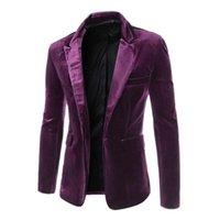 Wholesale 2016 new arrival fashion casual A buckle mens blazers mens blazer fashion mens tops suit coat ZX52