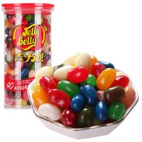 Wholesale 350g Jelly Belly Beans Assorted jelly beans candy about flavors sweets Food Jelly Bean Candies Gift For Children canned