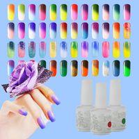 color uv gel - Color Changing UV Gel Nail IDO Gelish Nail Art Soak Off Temperature Gel Colors ml