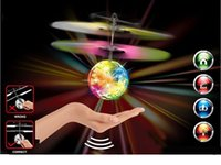 Wholesale RC Flying Plastic Fly Ball With Music Remote Contro Electric Helicopter to Children for Halloween s Gifts