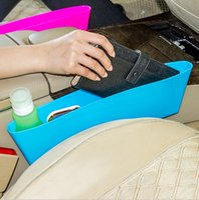 plastic trash bags - Storage Box Seat Pocket Catcher Plastic large cracks compressible car seat Car trash debris glove box Caught debris Bag Oraganizer