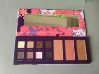Wholesale 2016 Hot Makeup Sets Tarte High Performance Naturals empower flower color eye shadow color bronzing powder