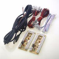 Wholesale Players Zero Delay Arcade USB Encoder PC To Joystick MAME pin Sanwa Type Push Buttons For Raspberry PI Retropie Project