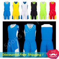 Wholesale Basketball suit New five star Basketball clothes kit custom wicking polyester sports suit
