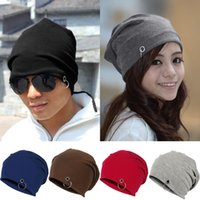 Wholesale Fashion Women Men Winter Autumn Ski Beanie Hats Slouch Baggy Hip Pop Crochet Cap Beanies FX271