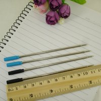 Wholesale Metal CRS style Ball Pen refill Standard size Writing Lead size mm Office Stationery Accessories School Supplies