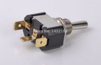 Wholesale 20PCS SPDT Toggle switch ON OFF ON Latching mm A V Rocker switches T6013T switch bicycle switch window