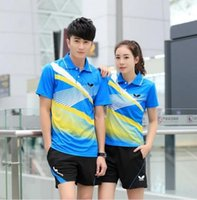 badminton outfits - New butterfly table tennis clothes Absorb sweat permeability quick drying sweethearts outfit badminton set
