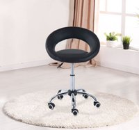 Wholesale Salon Stool Swivel Adjustable Moon Chair Pub Bar Tattoo Stool Massage