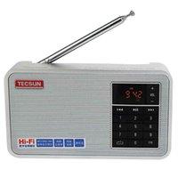 best pocket radios - TECSUN X3 FM Radio MHz Digital Audio Speaker Hi Fi MP3 Player BL B Battery Pocket Radio Silver Best Y4148D
