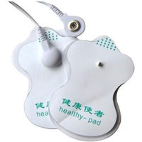 Wholesale Pads Tens Acupuncture Slimming Digital Therapy Machine massager Electrode Patch Good quality white for Sale