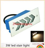 Wholesale YON outdoor led step light W wall lamp AC85 V High power led lighting fixtures Warm white indication path light