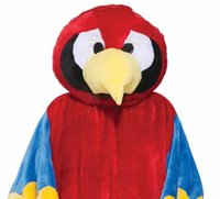 adult forum - Forum Deluxe Plush Parrot Mascot Costume Cartoon Character Adult Size Halloween party costume Carnival Costume