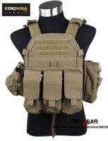 Wholesale TMC Plate Carrier Tactical Vest Coyote Brown Set Cordura Fabrics Vest SKU12050394