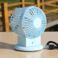 Wholesale Mini USB Rechargeable Charging AMH Lithium Battery Ventilador USB Fan Air Conditioning For Home School Office Retail and