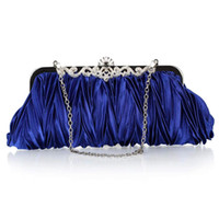 baguette wedding ring - Diamante Ring Handle Purse Frill Clutch Evening Shoulder Bag Wedding Party Bag COLORS