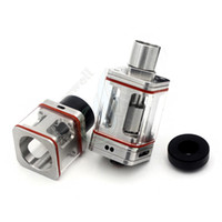 air force tube - New Stainless Steel rebuidable Mod RDA Transformer RTA RTDA Square Glass Tube air force one e cigs Vapor mods atomizer DHL
