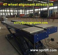 alignment lift - 2016 hot sale wheel alignment scissor car lift for car wheel maintance
