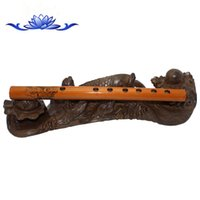 Cheap Yunnan natural water bamboo flute is about 24 cm mini short whistle beginner clarinet yi shu xiao national musical instrument bamboo flute