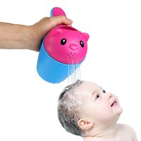 baby shampoo brands - 2 colors summer bear kids baby shampoo shield shower cup cap visor hat brands baby bath toys tub bath products care for children