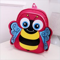 bee backpack - Japan Style Tide PU Leather Waterproof School Backpack Cartoon Burt s Bees Bag Girl Boy Unisex Big Daypack