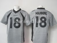 authentic peyton manning broncos jersey - Limite Newest NWT Broncos Peyton Manning Grey NEP Gridiron Gray Men s America Football Jerseys Authentic Uniforms Sweatshirts