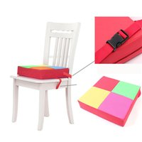 Wholesale Adjustable Booster Seat Highchair Mat and Kids Chair Pads Chair Increasing Cushion Dismountable