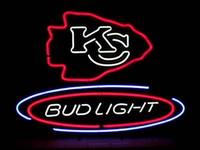 bars city - Bud Light Kansas City Neon Sign Custom Handmade Real Glass Tube Store Beer Bar Restauant Pub Adverisement Display LED Neon Signs quot X14 quot