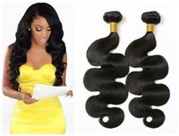 Wholesale 7A Peruvian Virgin Hair Body Wave Natural Color Bundles g Human Hair Weave Bundles Peruvian Body Wave Hair Products