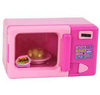Wholesale Child toy set mini appliances microwave oven series baby