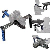 Wholesale Camera Stabilizer Foldable DSLR Rig Movie Kit Film Making System Shoulder Mount Support Rig Stabilizer for Canon Olympus Digital SLR Cameras