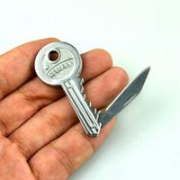 Wholesale NAMANN MINI TINY Protable Key Fold Knife Key Keys Pocket Knife Key Chain Knives Peeler Mini Camping Key Ring Knife Tool Tools EDC Suival